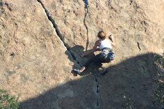 Rock Climbing Photo: Julia 8-4-10
