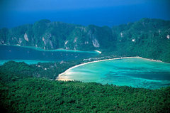 Rock Climbing Photo: Phi Phi from Viewpoint Three near the radio tower....