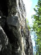 Rock Climbing Photo: More from Malvika. Also Excellent slab climbing ju...