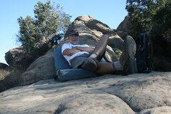 Rock Climbing Photo: 8-4-10