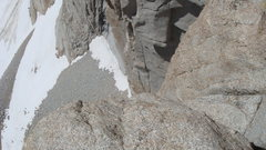 "Rock Climbing Photo: Looking down from the start of the ""Tower Tra..."