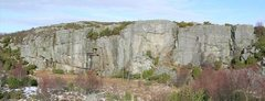 Rock Climbing Photo: Overview of Kårstø