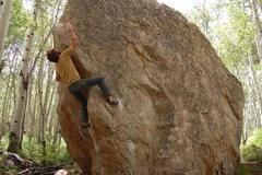 Rock Climbing Photo: Wedge Arete Photo: L. Bowlin.