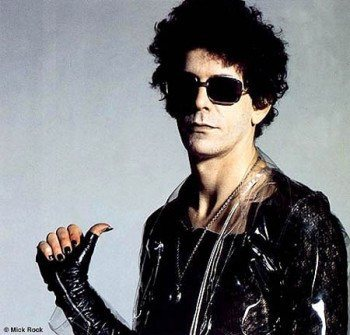 Rocker Lou Reed.
