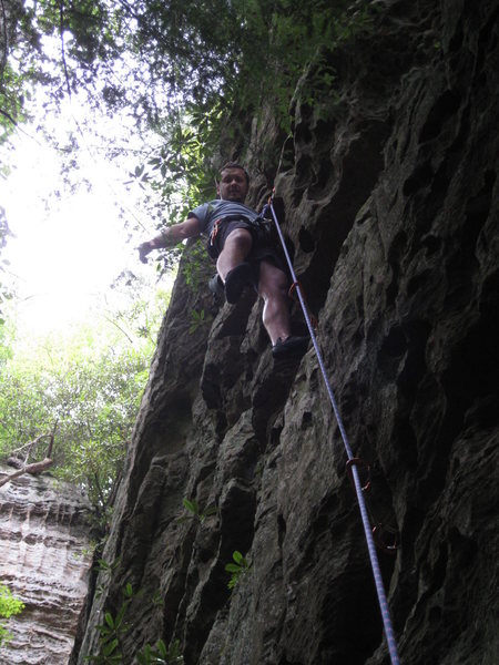 my buddy did this as his first outdoors route