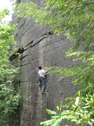 Rock Climbing Photo: the steeper lower section is fairly naked - plant ...