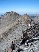 Rock Climbing Photo: Thatchop-Powell Ridge RMNP!  June.  Karla and Susa...