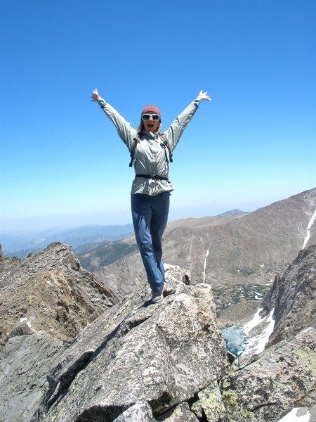 Rock Climbing Photo: Exposure if you want it!  Shelf/Solitude behind!