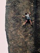 Rock Climbing Photo: One of my good friends, Jamie, on Tracey Anne (gra...