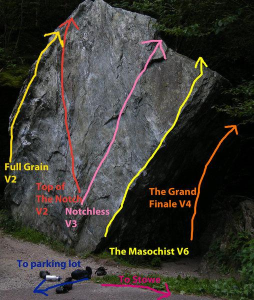 Rock Climbing Photo: Wheaties Boulder
