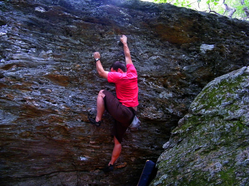 Rock Climbing Photo: Around the Fir