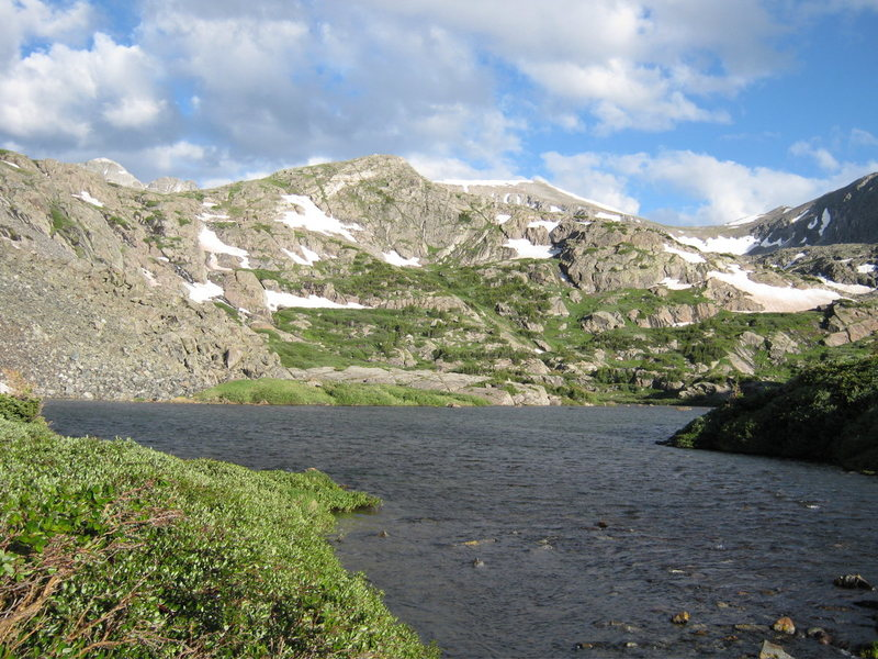 Rock Climbing Photo: The beautiful basin on the way into Inwood.