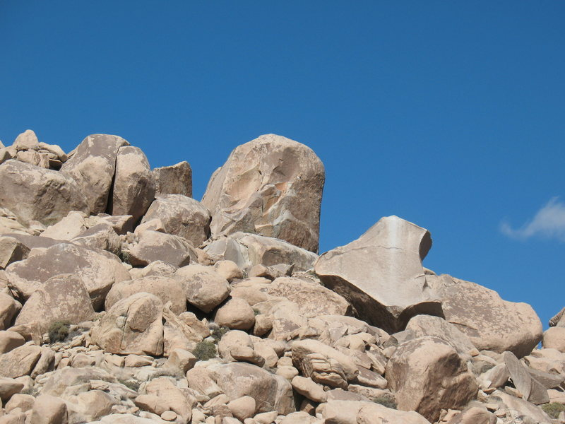 The Volcano and the Volcano Boulder, Joshua Tree NP