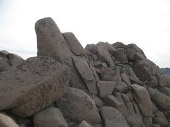 Rock Climbing Photo: The north side of The Volcano, Joshua Tree NP