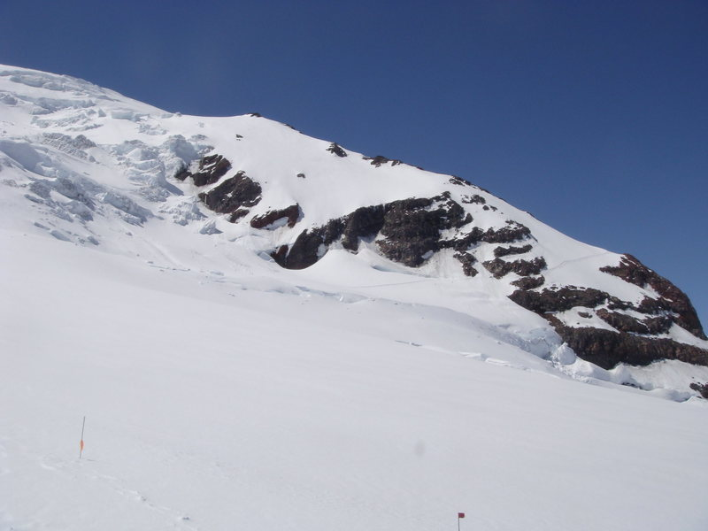 Rock Climbing Photo: Disappointment Cleaver from Ingraham Glacier