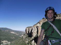Rock Climbing Photo: Zach on the summit