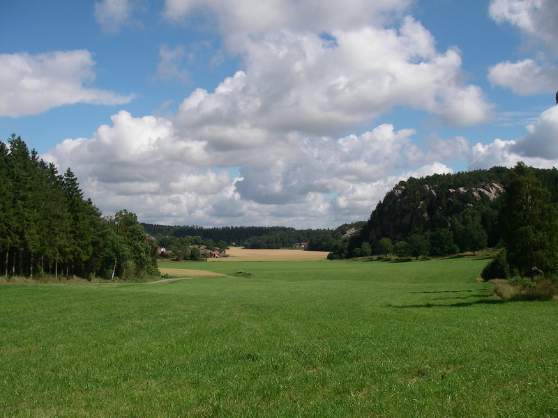 The nice countryside at Galgeberget.