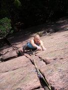 Rock Climbing Photo: Following Aterkomsten.