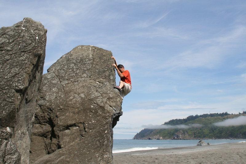 Rock Climbing Photo: First pic