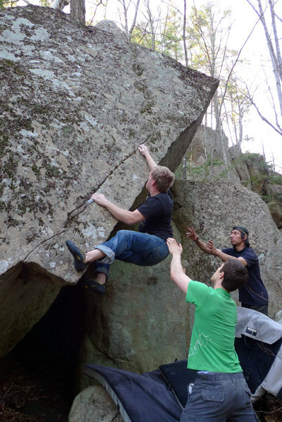 Rock Climbing Photo: Working Ethnic Cleansing. Not sure if this is the ...