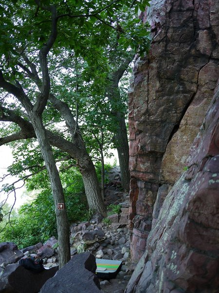 Rock Climbing Photo: GA