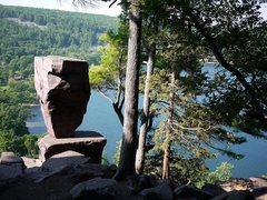 Rock Climbing Photo: Balanced Rock