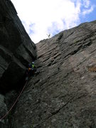 Rock Climbing Photo: Pitch 4 (5.6)