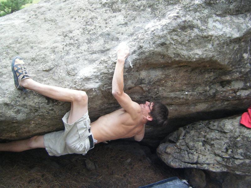 Rock Climbing Photo: Still some business left....