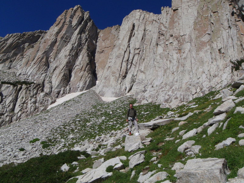 Rock Climbing Photo: Big Time--Big Smile