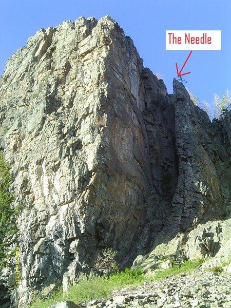 Rock Climbing Photo: The Needle.