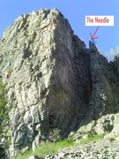 Rock Climbing Photo: The Needle.
