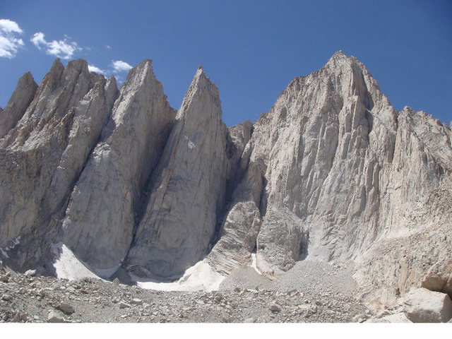 Mt. Whitney, Day and Keeler Needles.