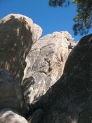 Rock Climbing Photo: Double P Wall, Holcomb Valley Pinnacles