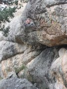 Rock Climbing Photo: Baker in retreat.