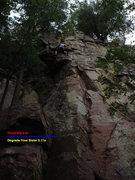 Rock Climbing Photo: Degrade Your Sister Direct & Degrade Your Sister