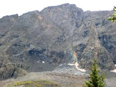 Rock Climbing Photo: NF of Ellingwood Peak...ignore the recent massive ...