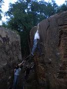 Rock Climbing Photo: Kenyan bustin it. 2nd accent.