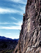 Rock Climbing Photo: Climbing in Haleakala Crater on Maui, 1975. Photo ...