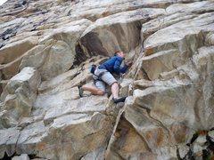 Rock Climbing Photo: Fun opening sequence on good rock.