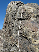 "Rock Climbing Photo: Most of ""White Flight"". Photo by Blitzo."