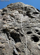 "Rock Climbing Photo: Most of ""Snow White"". Looks low-angle. N..."
