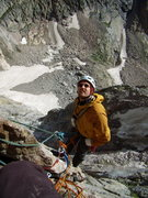 Rock Climbing Photo: Me on Pervertical.  August 7th 2010.