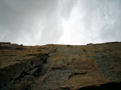 Rock Climbing Photo: Heading down after a great day.  Diamond August 7t...