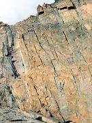 Rock Climbing Photo: Climbers on the Diamond.  Sunday August 8th 2010.
