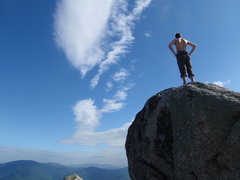Rock Climbing Photo: old rag summit