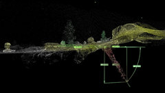 Rock Climbing Photo: LiDAR Image.