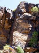 Rock Climbing Photo: Clay Pigeons (5.10a)
