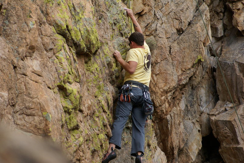 Rock Climbing Photo: Lemonhead