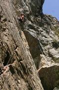 Rock Climbing Photo: Scott cruises Quaker State.