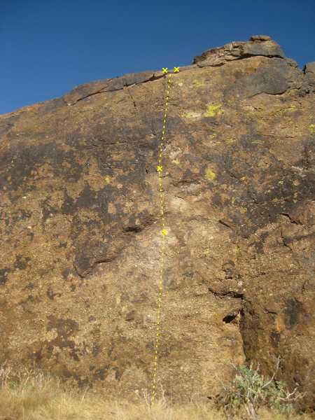 Rock Climbing Photo: Spaghetti Western (5.9)
